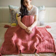 Willow Blanket Crochet Pattern