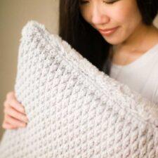 Luxe Faux Fur Cushion Crochet Pattern