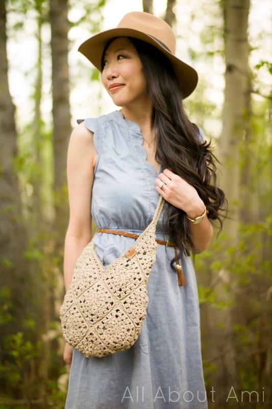 Wildrose Shoulder Bag Crochet Pattern