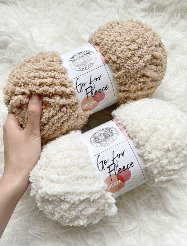 Go For Fleece Sherpa Yarn by Lion Brand Yarn