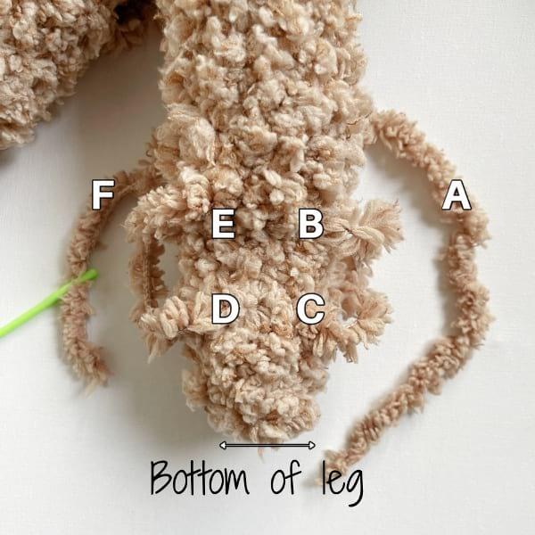 Fleece Teddy & Bunny Leg Shaping